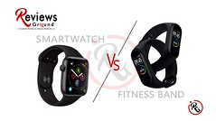 Smartwatch Vs Fitness Band | What is the difference? (reviewsground) Tags: smartwatch fitness band apple watch samsung galaxy 2019 xiaomi miband