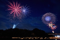 Suigou Oe Summer Festival (peaceful-jp-scenery (busy)) Tags: fireworks display summer festival yamagata suigo oe mogamigawariver 水郷大江夏まつり灯ろう流し花火大会 最上川 97回 西村山郡大江町 寒河江 山形 日本 sony α99ⅱ a99m2 ilca99m2 amount sal1635z variosonnart*1635mmf28zassm carlzeiss