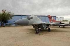 MIG 29 (rschnaible) Tags: pima air space museum outdoor airplane aircraft plane military vehicle transportation history historic mig 29 arizona southwest