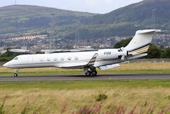 N1BB (GH@BHD) Tags: n1bb gulfstreamaerospace gulfstream guv g550 bollingerenterprises aircraft aviation bizjet corporate executive bhd egac belfastcityairport