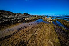 Baskenland0079Sopela (schulzharri) Tags: baskenland basque spanien spain espana bilbao reise travel strand beach meer ocean atlantik sonnenuntergang felsen rock water himmel wasser sky