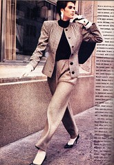 Vogue editorial shot by Lothar Schmid 1985 (barbiescanner) Tags: lotharschmid vintage retro fashion vintagefashion 80s 80sfashions 1980s 1980sfashions 1985 editorial vogue vintagevogue