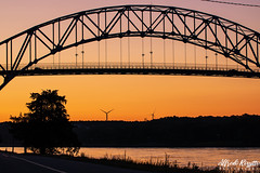 IMG_7489 (Alfredo Rossitto Photography) Tags: sigma70200mm28sports canont6i capecodcanalrailroadbridge capecod skyscape water bridge train sun canon sigma70200mm28 sigma
