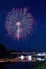 at Mogamigawa River (peaceful-jp-scenery (busy)) Tags: fireworks display summer festival yamagata suigo oe mogamigawariver 尺玉 10号玉 水郷大江夏まつり灯ろう流し花火大会 最上川 97回 西村山郡大江町 寒河江 山形 日本 sony α99ⅱ a99m2 ilca99m2 amount sal2470z variosonnart2470mmf28za carlzeiss
