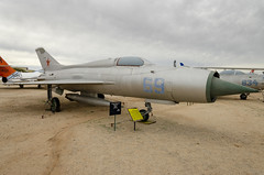 MIG 21 PF (rschnaible) Tags: pima air space museum outdoor airplane aircraft plane military vehicle transportation history historic mig 21 pf arizona southwest