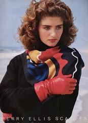 Perry Ellis 1985 (barbiescanner) Tags: perryellis vintage retro fashion vintagefashion 80s 80sfashions 1980s 1980sfashions 1986 vogue vintagevogue sandrafreeman