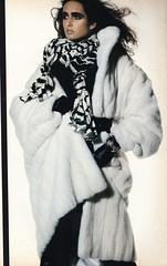 Vogue editorial shot by Irving Penn 1985 (barbiescanner) Tags: gailelliott irvingpenn editorial vintage retro fashion vintagefashion 80s 80sfashions 1980s 1980sfashions 1986 vogue vintagevogue