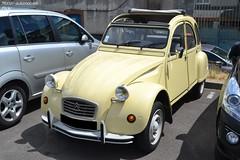 Citroën 2cv (Monde-Auto Passion Photos) Tags: voiture vehicule auto automobile citroën 2cv deuche deudeuche beige ancienne classique collection légende france fontainebleau