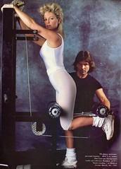 Lisa Hart shot by Harry Harry Benson for Vogue 1985 (barbiescanner) Tags: harrybenson vintage retro fashion vintagefashion 80s 80sfashions 1980s 1980sfashions 1985 vogue vintagevogue lisahartman