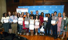8.15.19 First Literacy 21 (City of Boston Mayor's Office) Tags: boston ma usa