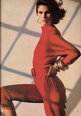 Vogue editorial shot by Steven Meisel 1985 (barbiescanner) Tags: stevenmeisel kimwilliams editorial vintage retro fashion vintagefashion 80s 80sfashions 1980s 1980sfashions 1985 vogue vintagevogue