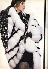 Vogue editorial shot by Irving Penn 1985 (barbiescanner) Tags: irvingpenn alexasinger editorial vintage retro fashion vintagefashion 80s 80sfashions 1980s 1980sfashions 1986 vogue vintagevogue