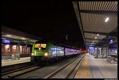 Flixtrain 182 505, Innsbruck 17-03-2018 (Henk Zwoferink) Tags: henkzwoferink bte bahntouristikexpress flixtrain flx alpen express alpenexpress ae rxp railexperts treinreiswinkel taurus mrce siemens 182505innsbrucktirolaustria