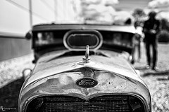 Ford Rat Rod in  Black & White
