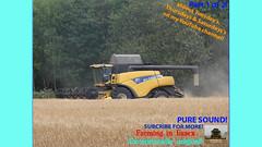 Two (TheFarmer123OnYouTube-photos) Tags: newholland nh newhollandcombine nhcombine newhollandcr nhcr newhollandcr9080 nhcr9080 johndeere jd johndeere6000 jd6000 johndeere6230 jd6230 harvest harvest19 harvest2019 barleyharvest harvestingbarley farming farmingphotography agriculture