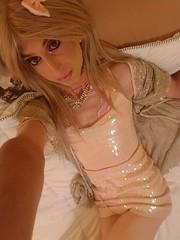 Crossdressing mtf cute (Kyleegurl) Tags: sissy gay crossdress drag blonde
