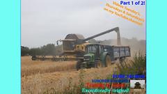 One (TheFarmer123OnYouTube-photos) Tags: newholland nh newhollandcombine nhcombine newhollandcr nhcr newhollandcr9080 nhcr9080 johndeere jd johndeere6000 jd6000 johndeere6230 jd6230 harvest harvest19 harvest2019 barleyharvest harvestingbarley farming farmingphotography agriculture