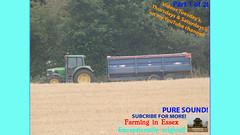 Three (TheFarmer123OnYouTube-photos) Tags: newholland nh newhollandcombine nhcombine newhollandcr nhcr newhollandcr9080 nhcr9080 johndeere jd johndeere6000 jd6000 johndeere6230 jd6230 harvest harvest19 harvest2019 barleyharvest harvestingbarley farming farmingphotography agriculture