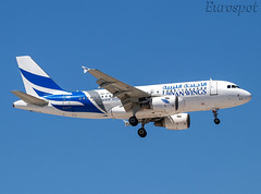 5A-WLC Airbus A319 Libyan Wings (@Eurospot) Tags: ltai antalya 5awlc airbus a319 libyanwings 2905