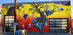 Islands In the Stream by Trent Larson (wiredforlego) Tags: graffiti mural streetart urbanart aerosolart publicart artsdistrict lasvegas las vegas nevada trentlarson isigroup