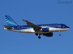 4K-AZ05 Airbus A319 Azerbaijan (@Eurospot) Tags: ltai antalya azerbaijan 4kaz05 airbus a319 2788