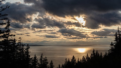 Forillon Sunset (jtr27) Tags: dscf8471xl jtr27 forillon national park quebec canada sunset gaspe gaspebay