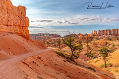 What Adventure Lies Around The Corner? (rebeccalatsonphotography) Tags: canon morning trail hiking fairylandcanyonloop utah redrock geology brycecanyon nationalpark ut np summer july rebeccalatsonphotography 5ds 2470mm