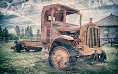 Hot Rod (Crusty Da Klown) Tags: kootenays fortsteele canada britishcolumbia bc truck old vintage neat cool awesome summer outside outdoors minolta kodak film 200 wheels vehicle parked