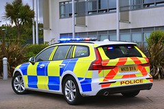 WK19 BVA (S11 AUN) Tags: dc devon cornwall police volvo v60 d4 anpr roads policing unit rpu 999 traffic car driver training tpac incident response panda patrol area emergency vehicle wk19bva