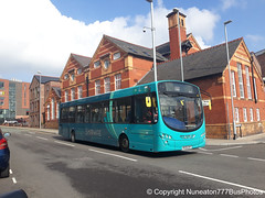 MX09EKP 2935 Arriva Sapphire Buses Wales in Chester (Nuneaton777 Bus Photos) Tags: arriva sapphire buses wales wright pulsar mx09ekp 2935 chester
