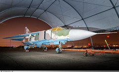 Mikoyan Gourevitch Mig 23 ML Fogger German Air Force 20+30 ( Russian Air Force n° 26 ) (Clément W.) Tags: 23 mig mikoyan gourevitch de force 26 air musée german mae russian ml et lair 2030 n° fogger lespace