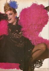 Vogue editorial shot by Irving Penn 1982 (barbiescanner) Tags: irvingpenn editorial kellyemberg vintage retro fashion vintagefashion 80s 80sfashions 1980s 1980sfashions 1982 vogue vintagevogue
