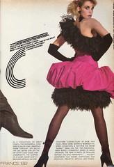 Vogue editorial shot by Irving Penn 1982 (barbiescanner) Tags: irvingpenn editorial anettestai vintage retro fashion vintagefashion 80s 80sfashions 1980s 1980sfashions 1982 vogue vintagevogue