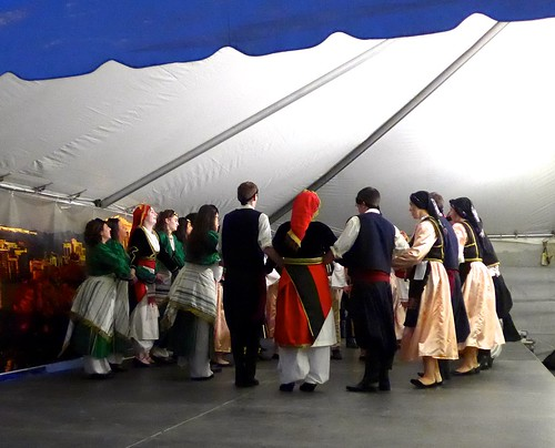 Dancing at GreekFest, St. John's Greek Orthodox Church, Omaha