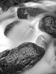 Flow - Chipmunk Creek (SGarriott) Tags: sgarriott scottgarriott olympus omd em5ii 1240mmf28 nature canada bc britishcolumbia chilliwack creek flow water rush blur longexposure wet blackwhite blackandwhite monochrome rocks stones
