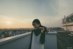 BEN01453-14 (vnproben) Tags: photography a6500 50mm girl beauty sunset rooftop portrait