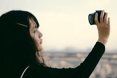 BEN01399-2 (vnproben) Tags: photography a6500 50mm girl beauty sunset rooftop portrait