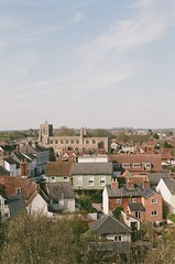 Clare (John Mabbitt) Tags: town sky tower church rooftops suffolk clare