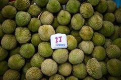 Geylang Durians (Jon Siegel) Tags: nikon nikkor d810 35mm 14 35mmf14ais 35mm14 durians durian geylang fruit delicious singapore
