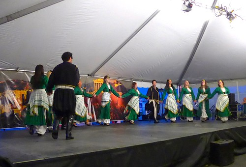 Dancing at GreekFest, St. John's Greek Orthodox Church