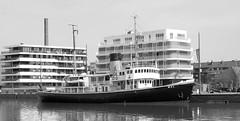 """Museum Ship Icebreaker """"Wal"""" in Bremerhaven (Wolfgang.W. ) Tags: museumshipicebreaker""""wal museumsschiff denkmal eisbrecher technik icebreaker museum ship """"wal bremerhaven hafen port schiff harbour"""