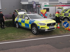 Staffordshire Police Volvo V90 Cross Country (KJ17 EGY) (Neil 02) Tags: staffordshirepolice volvo v90 kj17egy policecar policevehicle centralmotorwaypolicegroup cmpg emergencyservices britishgrandprix silverstone northamptonshire