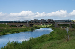 GWR Class 802 passing Langport (philwakely) Tags: gwr iep iet class800 class802 hitachi fgw firstgreatwestern first greatwesternrailway greatwestern langport
