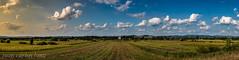 PANORAMICA CALATANI (juan carlos luna monfort) Tags: iglesia campo paisaje landscape cieloazul cielo nuboso nubes clouds hdr nikond810 nikon24120 calma paz tranquilidad rumania romania bihor