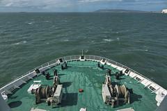 Commodore Clipper view from cabin 815 (Ningaloo.) Tags: condor commodore clipper ferry cabin 815 isle wight