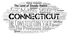 Connecticut (Ben Taylor55) Tags: connecticut the constitution state nutmeg provisions land steady habits qui transtulit sustinet ansonia new haven shelton west bristol groton london torrington tag tags tagcloud word words wordcloud