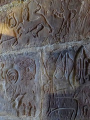 Wall carvings, Carlisle Castle (luckypenguin) Tags: england cumbria carlisle castle englishheritage