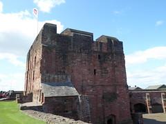 The Keep Tower, Carlisle Castle (luckypenguin) Tags: england cumbria carlisle castle englishheritage