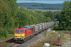 60040, Disley (UK), 17/08/19 (bontybermo402) Tags: 60040 6f05 tunstead lostock disley midland railway tunnel hazel grove high level junction db cargo