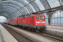 DB 112 113 Dresden Hbf (daveymills37886) Tags: 112 113 dresden hbf db baureihe
